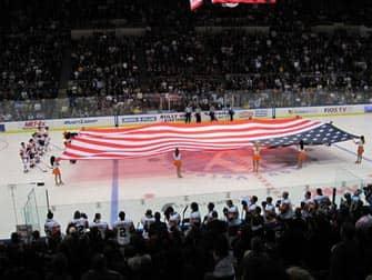 New York Islanders - bandera estadounidense