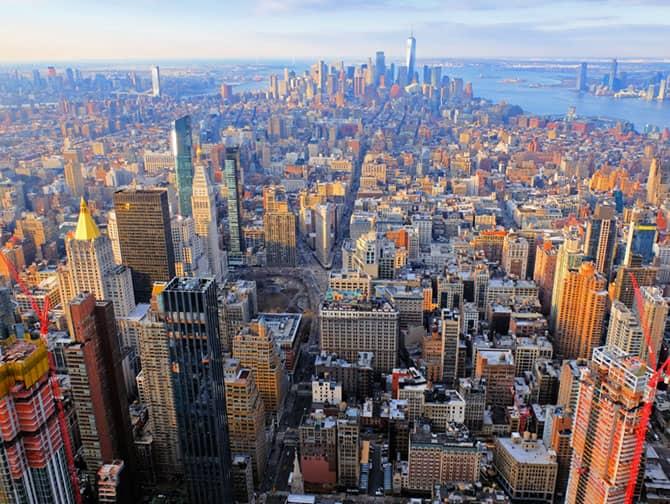 Tickets para el Empire State Building - Vista Downtown Manhattan