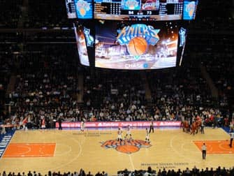 New York Knicks - partido de baloncesto
