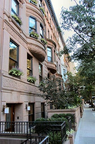 Upper West Side en NYC - Brownstone