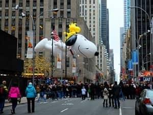 Desfile Thanksgiving Macys en Nueva York