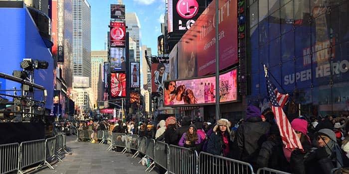 Fin de ano en Nueva York - Times Square