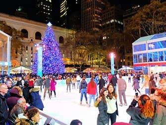 Las navidades en Nueva York - Bryant Park