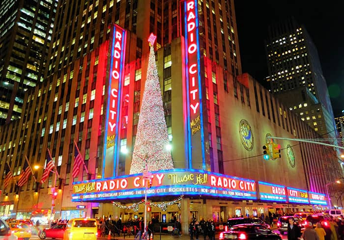 Las navidades en Nueva York - Radio City Music Hall