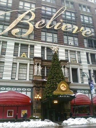 Macy's en Nueva York - árbol de Navidad