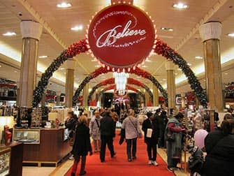 Macys en Nueva York - decoraciones navidenas