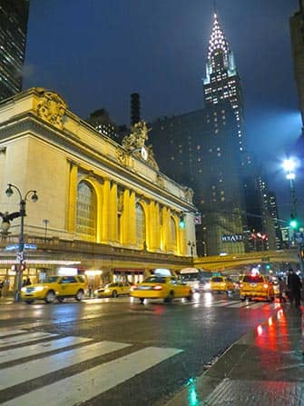 Midtown Manhattan en NYC - Grand Central y Chrysler Building