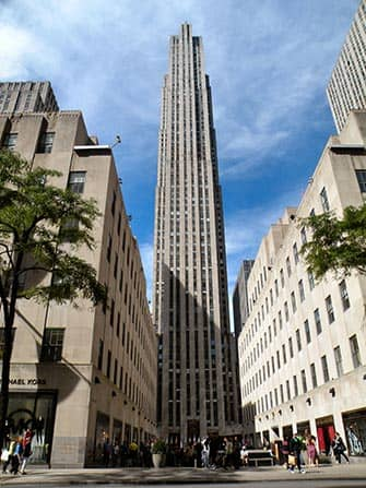 Midtown Manhattan en NYC - Rockefeller Center