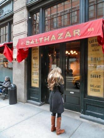 Restaurantes romanticos en Nueva York - Balthazar
