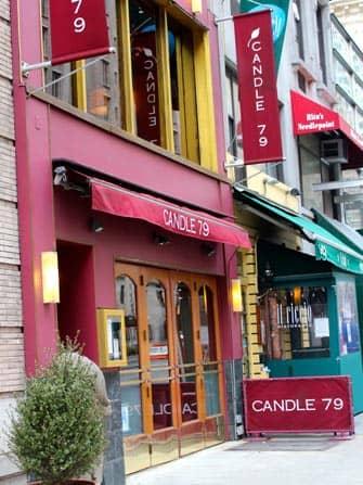 Restaurantes romanticos en Nueva York - Candle 79