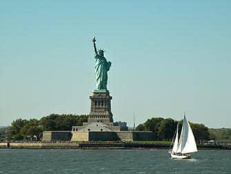 Staten Island Ferry en NYC - Estatua de la Libertad