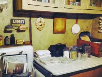 Tenement Museum en Nueva York - cocina