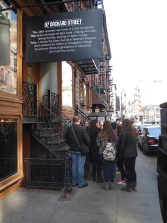Tenement Museum en Nueva York - exterior
