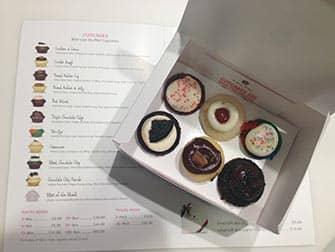 Los mejores cupcakes en Nueva York - caja Baked by Melissa
