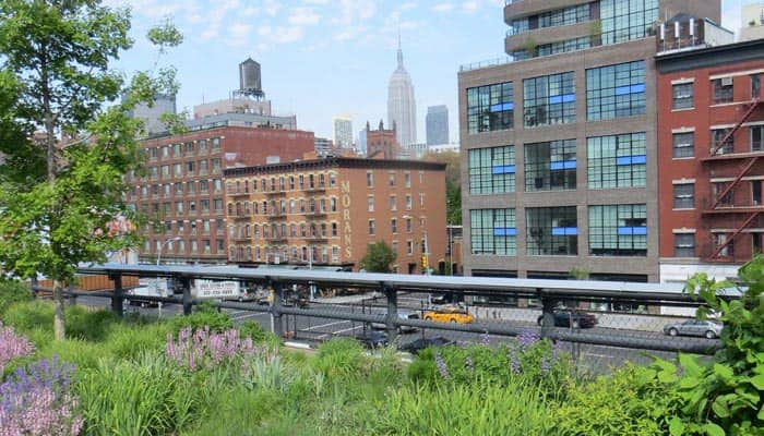 Meatpacking District en Nueva York - High Line Park