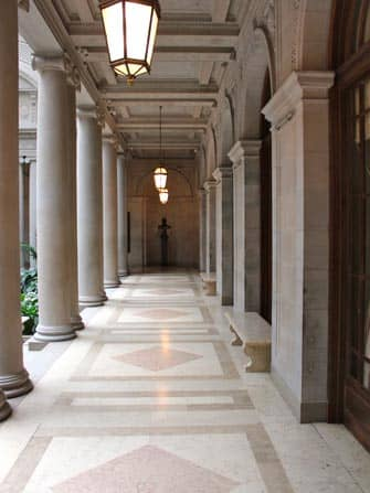 The Frick Collection en NYC - Hall
