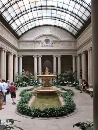 The Frick Collection en Nueva York - patio