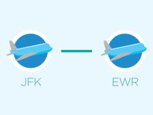Transporte desde JFK a Newark o desde Newark a JFK