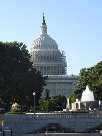 Excursion en tren a Washington DC - Capitolio