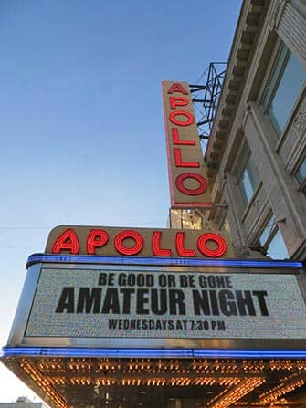 Harlem en New York - Apollo Theatre