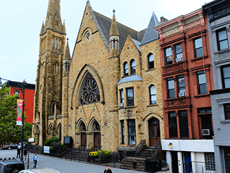 Harlem en Nueva York - Iglesia