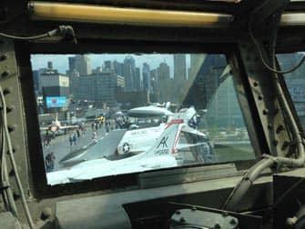 Intrepid Sea, Air and Space Museum en Nueva York - aviones