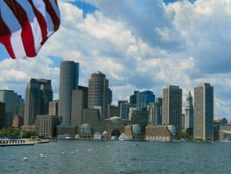 Boston Freedom Trail - Boston Skyline