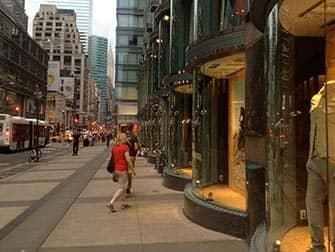 Comprar en Upper East Side - escaparates