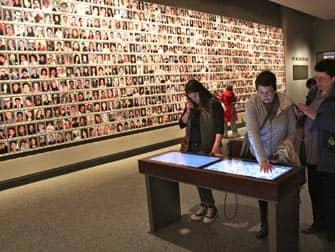 Museo del 11-S en Nueva York - Pared conmemorativa