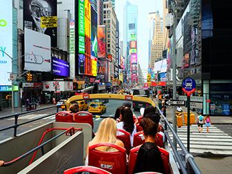 Big Bus en Nueva York - Segundo piso