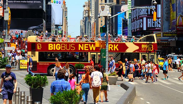 Big Bus en Nueva York - Times Square