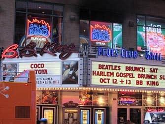 Jazz en Nueva York - BB King Blues Club
