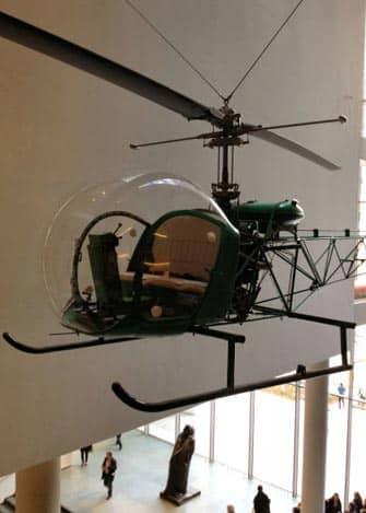MoMA en Nueva York - helicoptero
