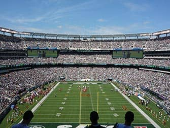 New York Jets - Partido de futbol americano