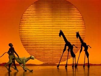Tickets para The Lion King en Broadway - escenario