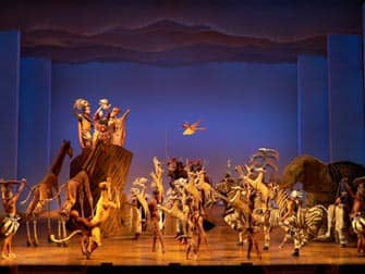 The Lion King en NYC - en escena