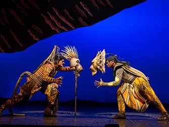 Tickets para The Lion King en Broadway - Lucha
