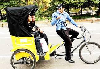Tour de 1 hora por Central Park en bici-taxi