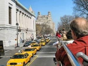 Bus hop on hop off en Nueva York