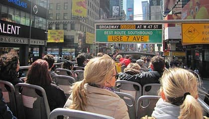 Bus hop on hop off en Nueva York - Bus turístico