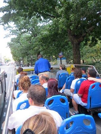 Bus hop on hop off en Nueva York Guia