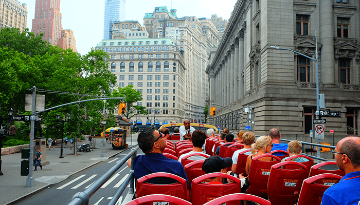 Bus hop on hop off en Nueva York - Turismo