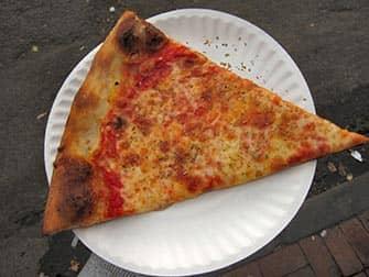 Joes Pizza en NYC