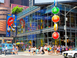 M&M's Store en Times Square Nueva York