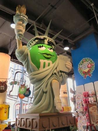 MMs Store en NYC - Estatua de la Libertad