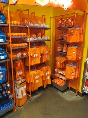 MMs Store en NYC - souvenirs
