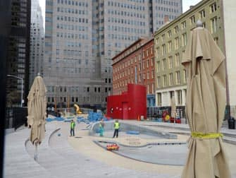 Parques en NYC - South Street Seaport Playground