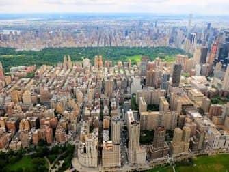 Rutas de vuelos en helicóptero por Nueva York - Central Park
