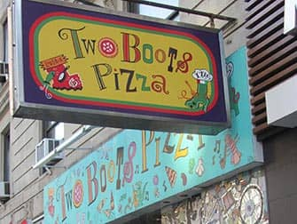 Two Boots Pizza en Nueva York