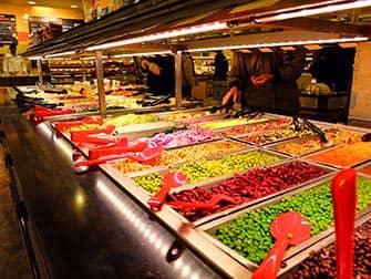 Almuerzo en Nueva York - buffet de ensaladas